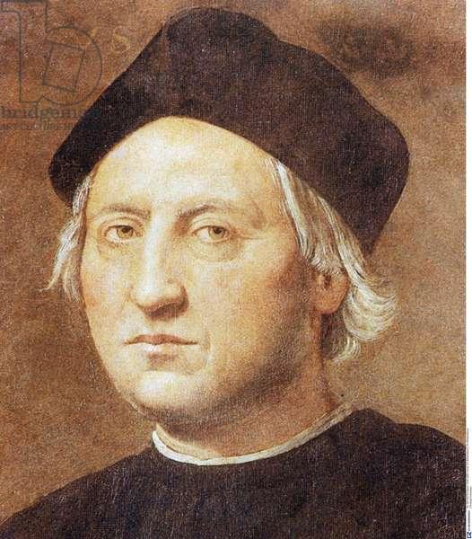 Portrait of Christopher Columbus (photo)