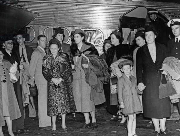 Evacuation of British families from Prague, 1938