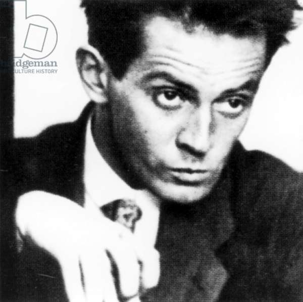 Egon Schiele (b/w photo)