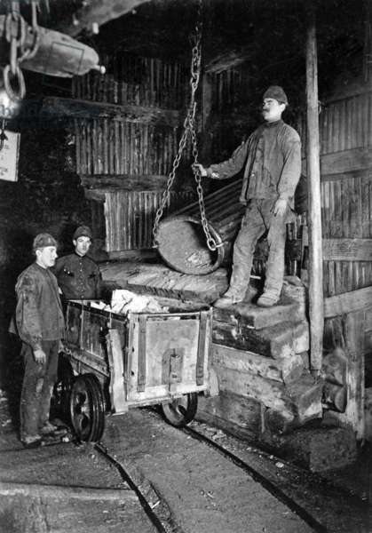 Mining in the Harz, 1899