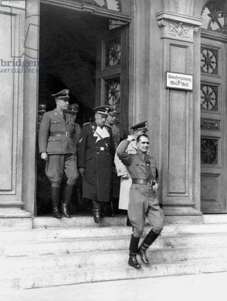 Rudolf Hess, 1938 (b/w photo)