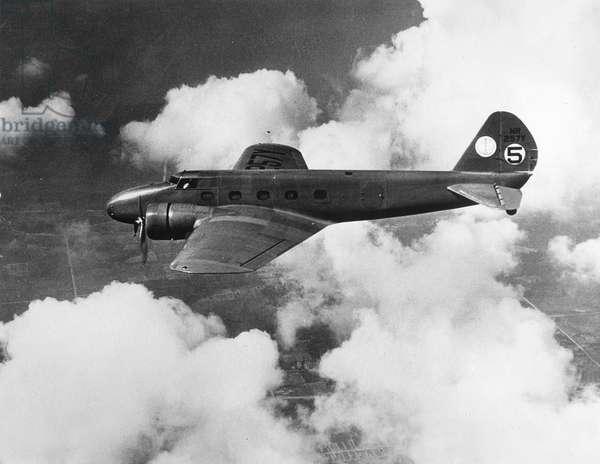 Boeing 247, 1934 (b/w photo)