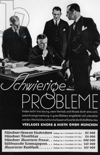 Sueddeutscher Verlag: Knorr and Hirth publishing house: 1938