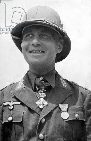 Erwin Rommel, 1941 (b/w photo)