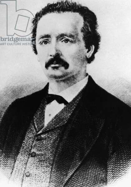 Heinrich Schliemann (engraving)