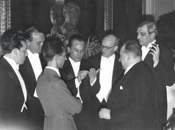 Joseph Goebbels in the Kaiserhof