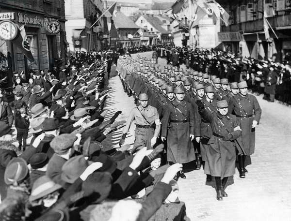 Integration of the Klaipeda Region in the German Reich 03/24/1939 (b/w photo)