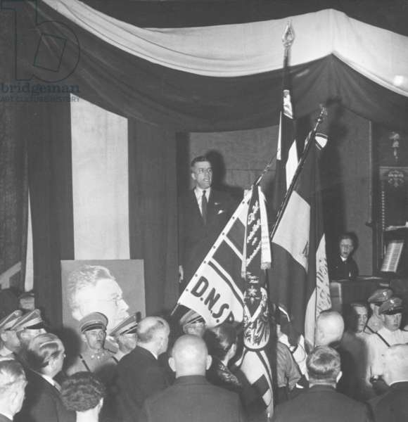 Consecration of the flag of the DNVP, 1933