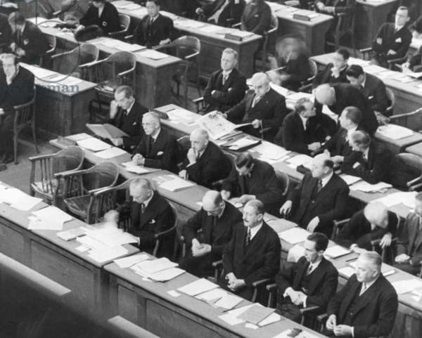 Joseph Goebbels at the League of Nations, 1933