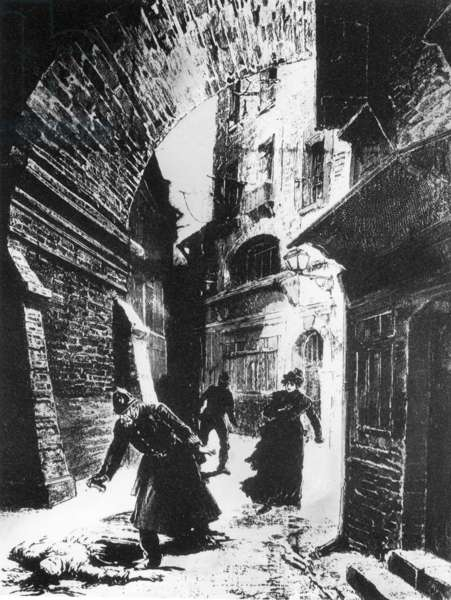 The criminal case of Jack the Ripper