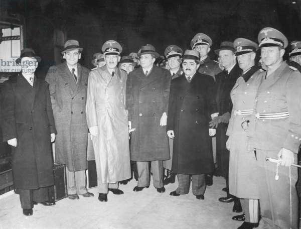 Soviet economic delegation in Germany,1939 (b/w photo)