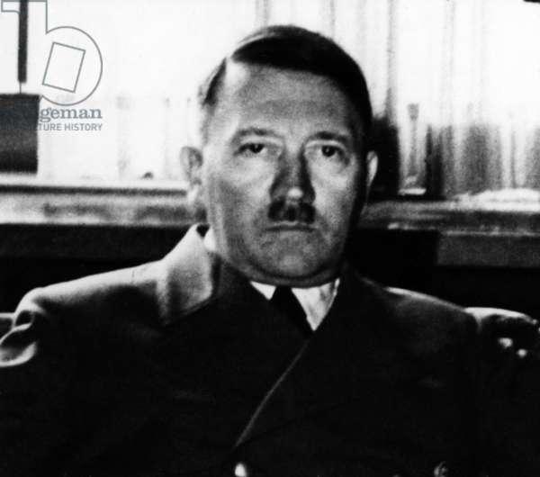 Adolf Hitler, undated (b/w photo)