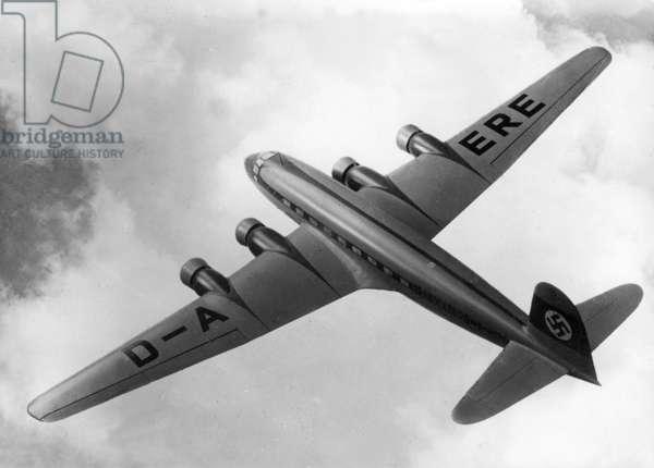 Focke Wulf Fw 200 'Condor', 1937 (b/w photo)