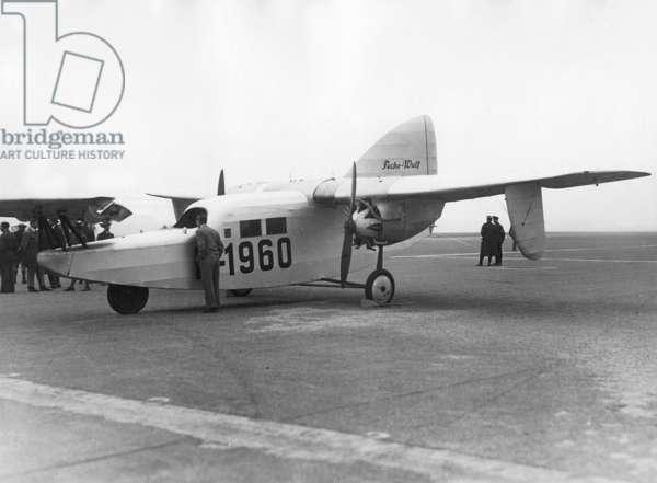 Focke Wulf F-19 'duck' (b/w photo)