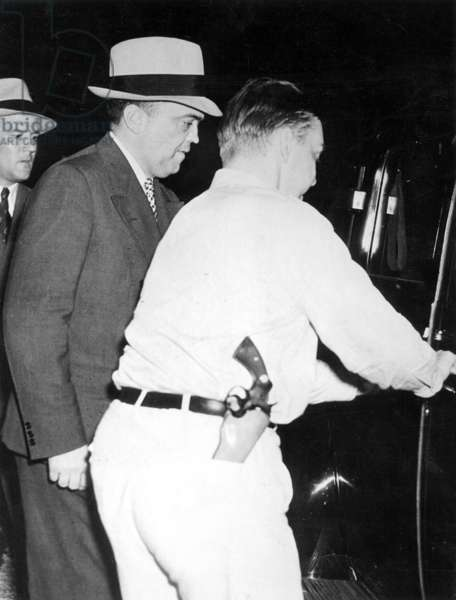 J. Edgar Hoover, 1938 (b/w photo)