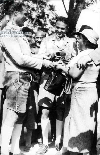 Rudolf Hess, 1937 (b/w photo)