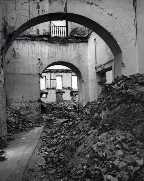 Destruction in the Spanish Civil War, 1939