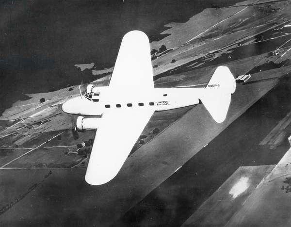 Boeing 247, 1932 (b/w photo)