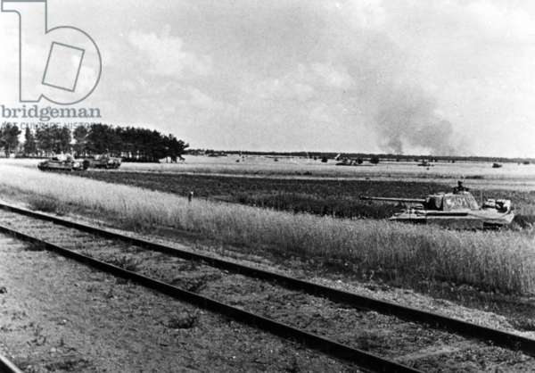 Panzerwagen V on the Eastern Front, 1944
