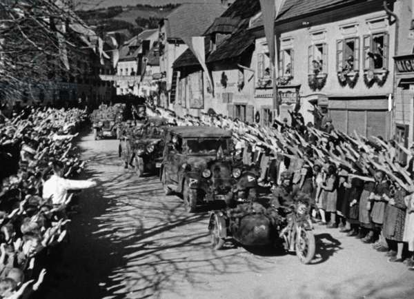 German troops in Styria, 1938