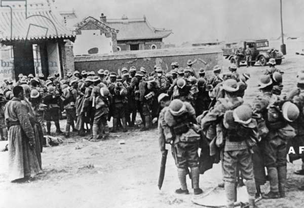 Japanese attack on Burma, 1941-42 (b/w photo)