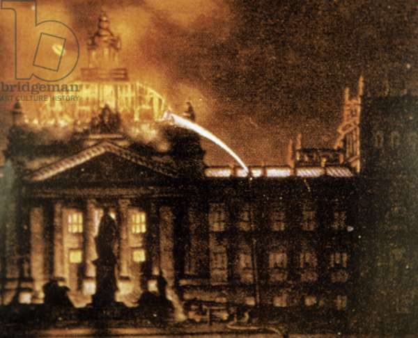 Reichstag fire on 27.02.1933