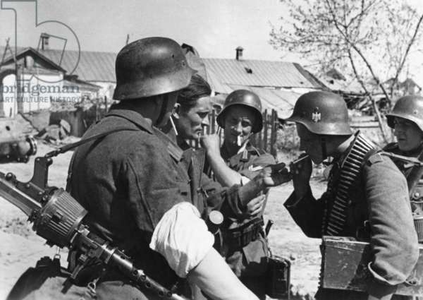 German soldiers on the Eastern front, 1942