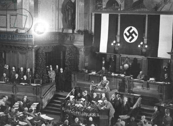 The Landtag of Prussia during the last session, 1933
