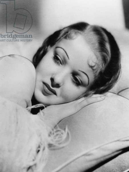 Ida Lupino, 1934 (b/w photo)