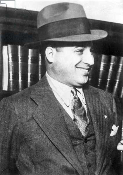 Ralph Capone, 1935 (b/w photo)
