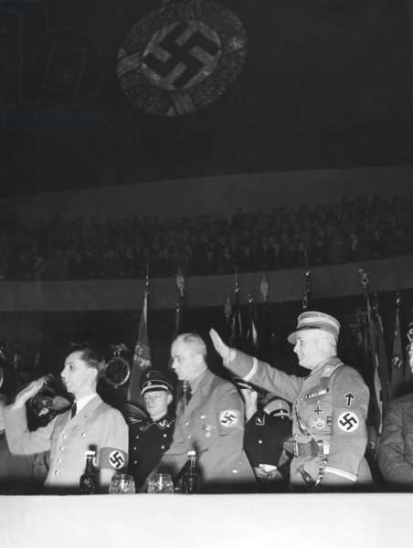 Joseph Goebbels on the national day of the district Greater-Berlin, 1936