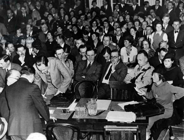 Lindbergh case: the trial, 1935