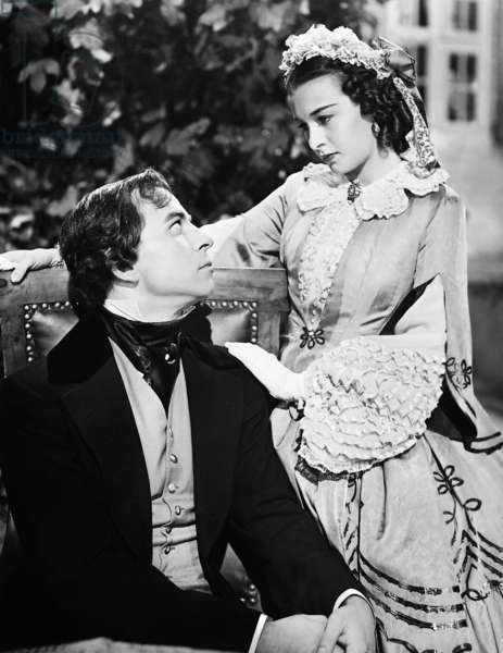 Joachim Gottschalk and Ilse Werner in 'Die schwedische Nachtigall', 1941 (b/w photo)