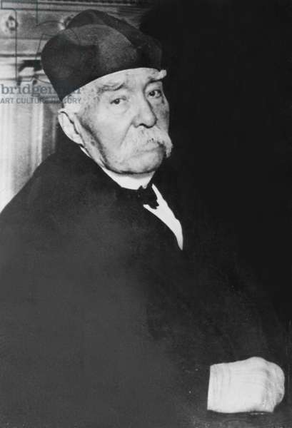 Georges Clemenceau (b/w photo)