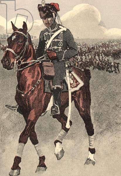 German hussar, 1909