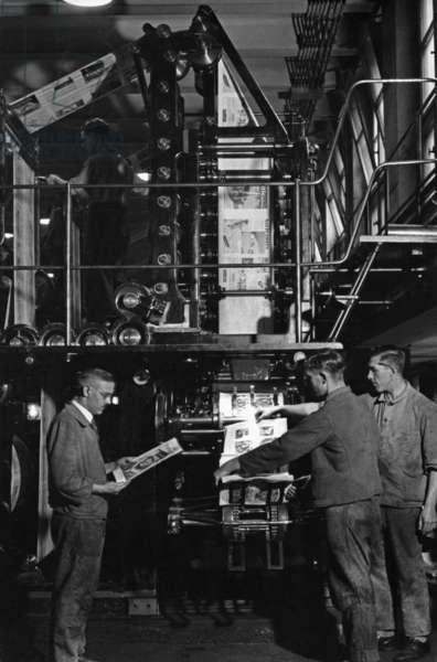 Sueddeutscher Verlag: Knorr und Hirth publishing house, 1936 (b/w photo)