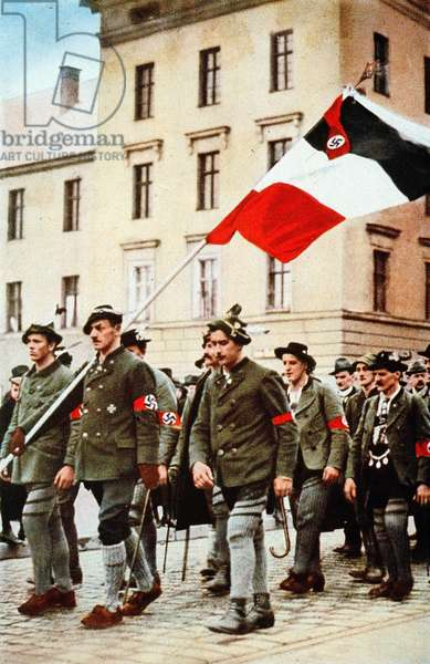 Hitler coup 9. November 1923 (photo)