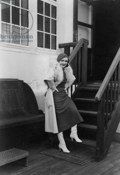 Pola Negri, 1933 (b/w photo)