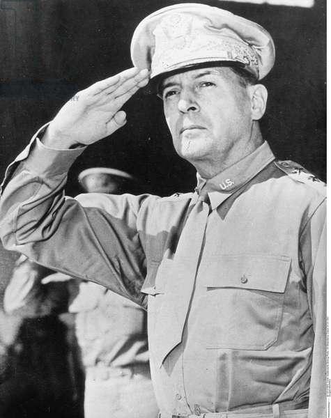 General Douglas MacArthur, 1941 (b/w photo)