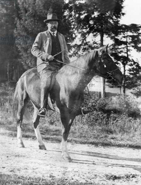 Archduke Franz Ferdinand, 1909 (b/w photo)