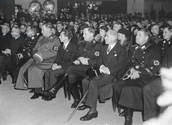 Joseph Goebbels at an event, 1934