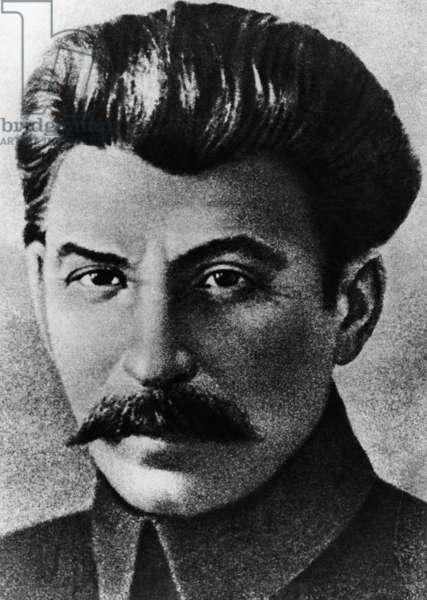 Joseph V. Stalin, 1917 (b/w photo)