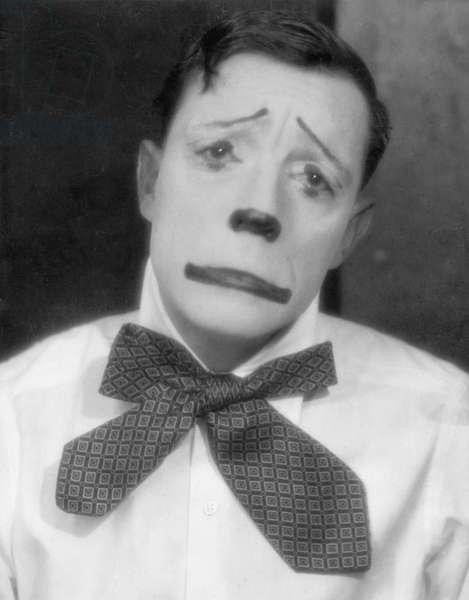 Buster Keaton as Bajazzo (b/w photo)