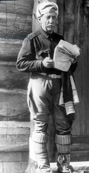 Roald Amundsen, 1926 (b/w photo)