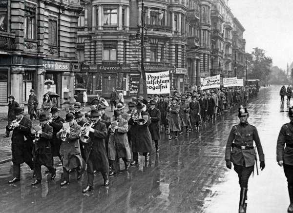 Protest of the Sudeten Germans in Berlin, 1930