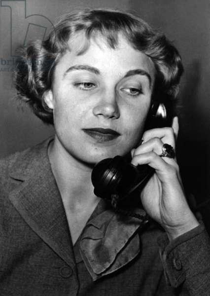 Anneliese Schuller, around the 1950s