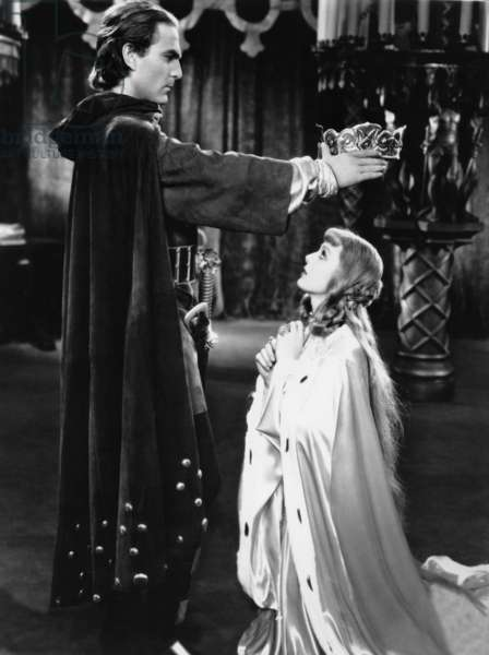 Henry Wilcox and Loretta Young in 'The Crusades', 1935 (b/w photo)
