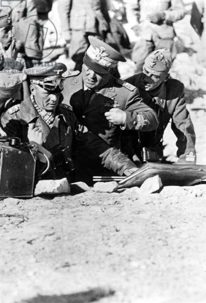 Erwin Rommel, 1942 (b/w photo)