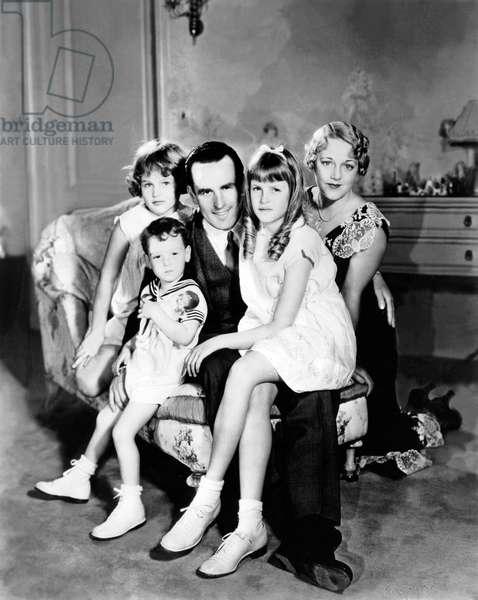 Harold Clayton Lloyd en famille