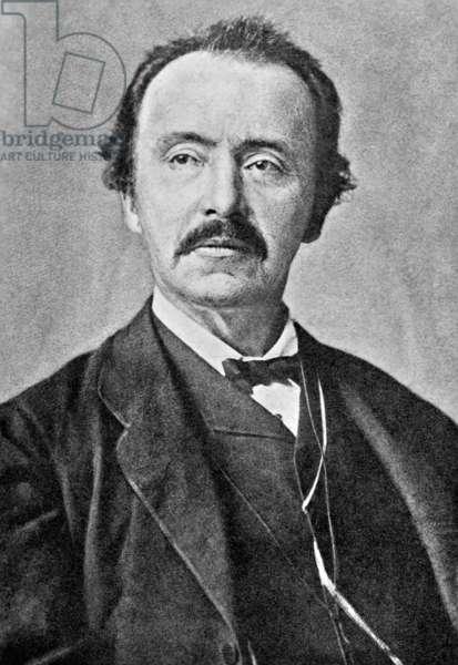 Heinrich Schliemann (b/w photo)